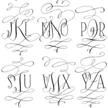 crystal kluge fonts! / tartworkshop.com