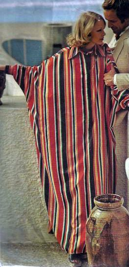 Vogue US ca. 1973 - Caftan Dress