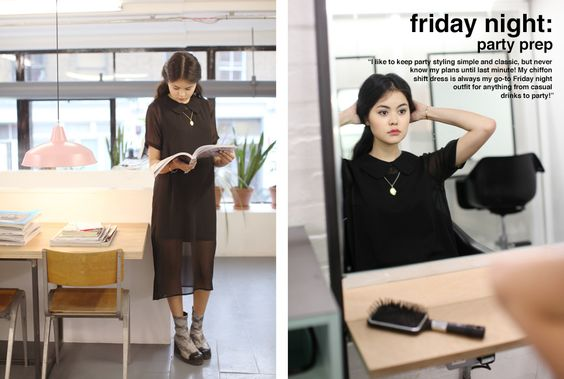 Chiffon Shift Dress Black http://www.thewhitepepper.com/collections/dresses/products/chiffon-shift-dress-black