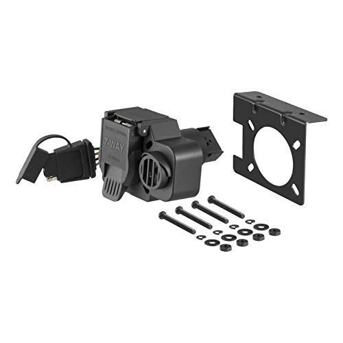 Universal Installation Kit For Trailer Brake Controller 7 Way Rv And 4 Way Flat 10 Gauge Wires E Trailer Trailer Plans Boat Trailer