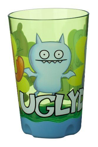 Planet Zak's Good to Go Uglydoll Tumblers, 9-Ounce, Set of 2 by Planet Zak!. $9.96. All product components are BPA free and dishwasher safe. Slim style is easy for small hands to hold. Non-skid base to prevent spills. Stackable for easy storage. Planet Zak's Uglydoll 9oz Tumblers have a slim style so it's easy for small hands to hold and feature colorful images of the characters. Made of SAN plastic, these tumblers are incredibly durable and scratch resistant. The set is par...