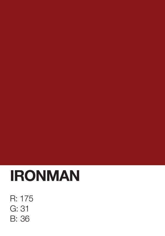On a atteint la limite des affiches minimalistes super hero mini limite 07 geek design bonus