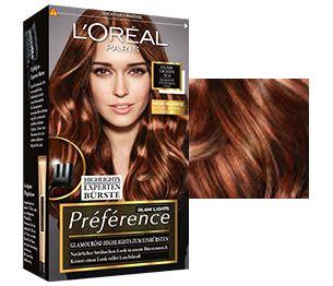 preference glam lights no6 fr dunkles haar i am bronde mit strhnchenbrste 3 - Coloration Preference