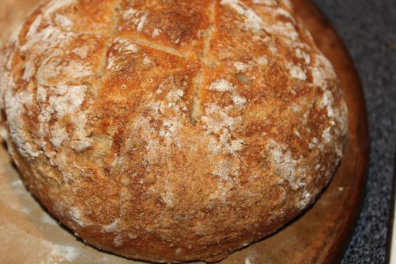 This may be the easiest bread recipe you will ever make!  In about 5 to 10 minutes, by simply mixing together 6 simple ingredients - you are on your way to creating fresh artisan bread that not onl...