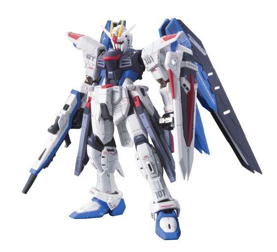 Bandai #05 Freedom Gundam 1/144 Real Grade & Action Base Stand from Japan #Bandai