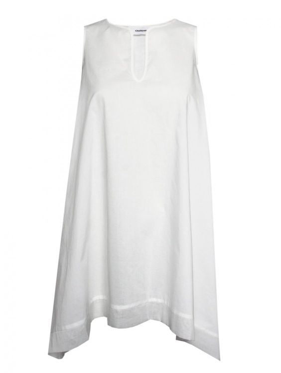 White Tunic Dress - Earth Below - Pinterest