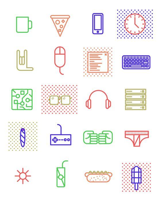 Work & Play by Gustavo Quintana, via Behance