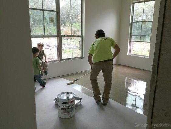 sealing concrete floors