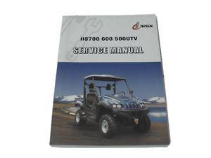 Details about HS700 / 600 / 500 CC UTV service manual
