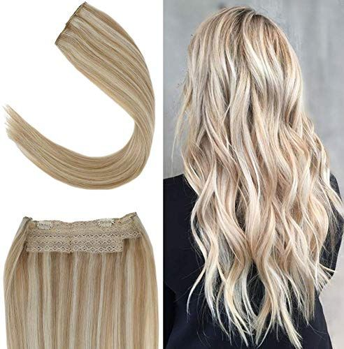 Buy Youngsee 20inch Invisible Wire Secret Halo Blonde Hair