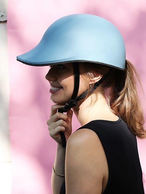 Wir Haben Fahrradhelm Taugliche Frisuren Fur Dich Getestet Helm Pony Pony Selber Schneiden