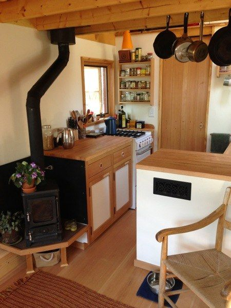 College Grad Couple Live Simply in 170 Sq. Ft. Tiny Home (Interview)  ~ click on photo for more ~: