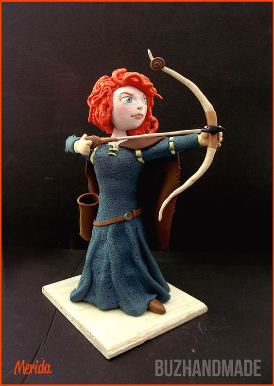 merida_clay_sculpture___fanart_by_buzhandmade-d5rr8q3