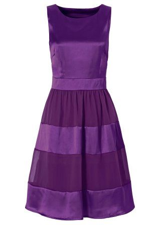 Kleid, BODYFLIRT, veilchenlila Little purple dress.