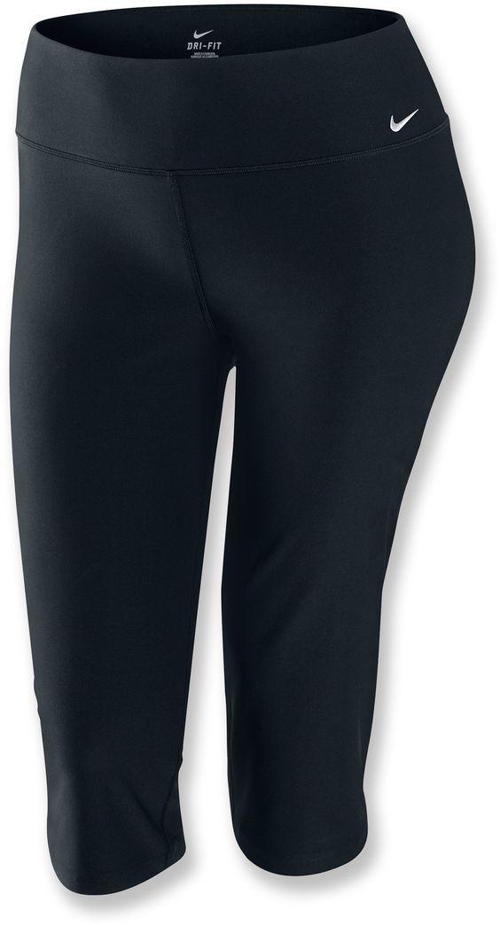 65 - Nike Extend Legend Regular Fit Capri Pants - Women's Plus Sizes - Free Shipping at REI.com