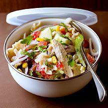 Salade de poulet aux pâtes complètes - WW 10PP