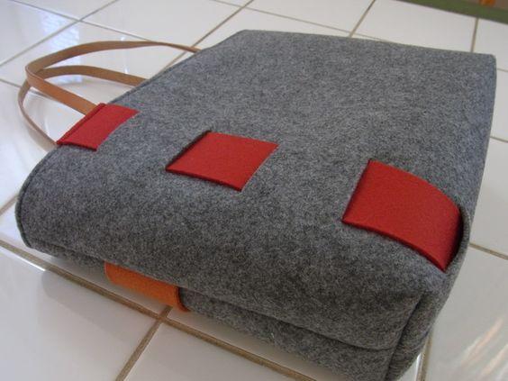フェルトのバッグ。 : Zu*color [since oct.2007]