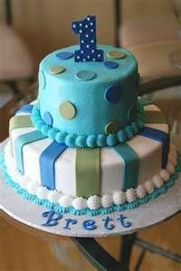 for baby boy first birthday cakes  Cakes  Pinterest  Birthday cakes ...