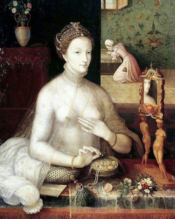 Аtelier de François Clouet (Attributed) Portrait de Diane de Poitiers . . . . . . #art #artwork #artoftheday #arts #artstagram #artlife…