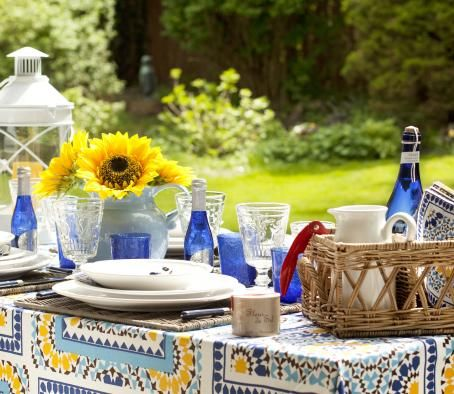 Picnic party decorating ideas 21 table decoration ideas - Garden table decoration ideas ...