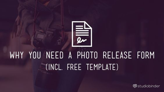 Why You Need a Photo Release Form Template - StudioBinder-min - image release form