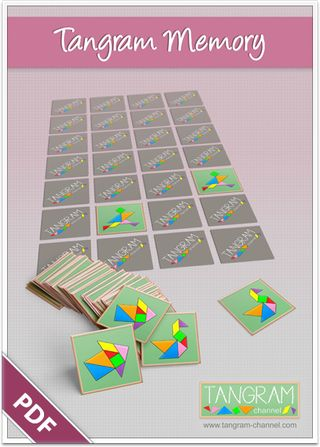DIY - Tangram Memory Game - free Download - www.tangram-channel.com: