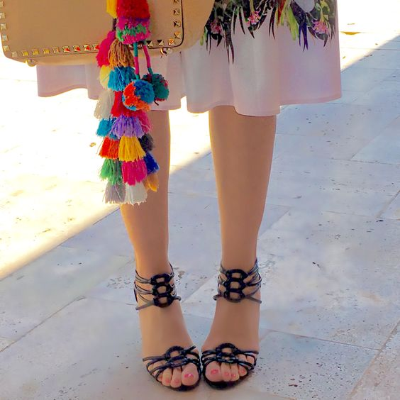 """The stylish """"Vetta"""" Sandal by Nina Shoes is the perfect sandal for your summer fashion needs."""