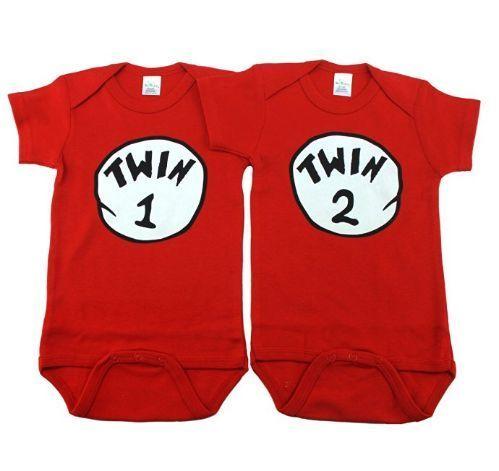 Unisex Twin Bodysuits