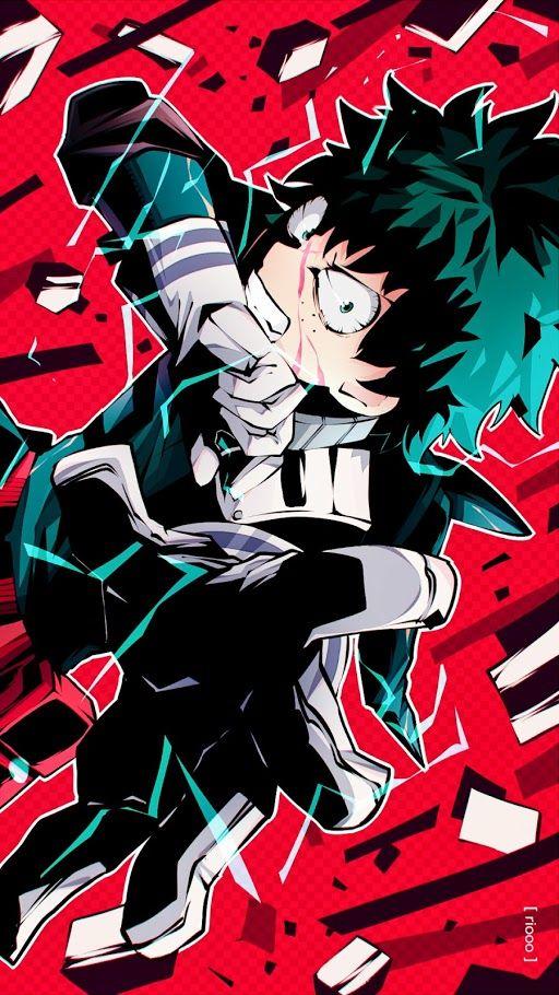 Izuku Midoriya My Hero Academia Gg Personajes De