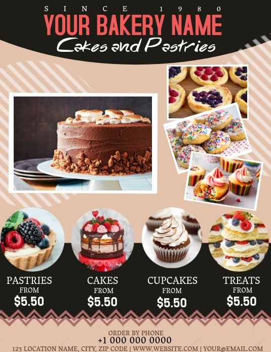 Pin On Bake Sale Flyer Templates