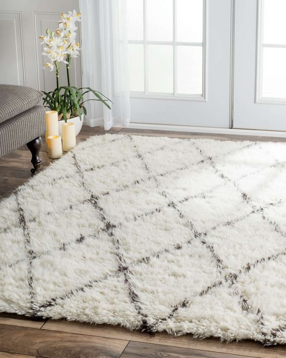Affordable Contemporary Rug Bedroom