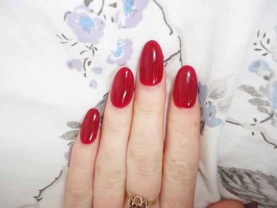 oval nails acrylic