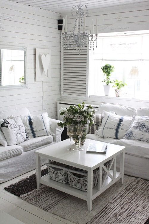 25 Dream Shabby Chic Living Room Design Ideas