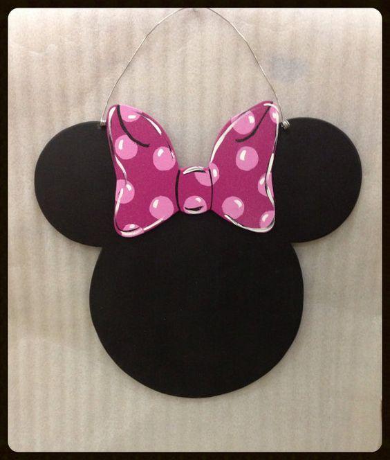 Mouse door hanger Chalkboard door hanger by Furnitureflipalabama ...
