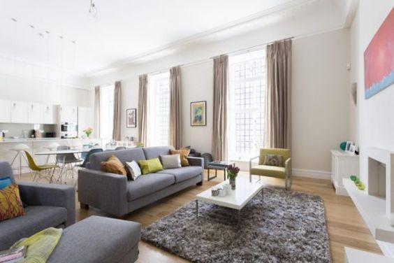 Deko fürs Wohnzimmer im skandinavischen Stil - Tipps und Bilder