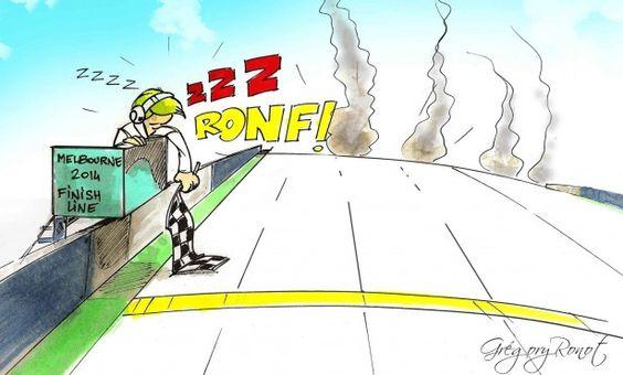 Cars - F1 : Y aura-t-il une voiture à l'arrivée du Grand Prix d'Australie ? - http://lesvoitures.fr/formule-1-2014/