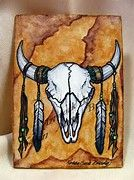 Image result for Buffalo Skull Sketch