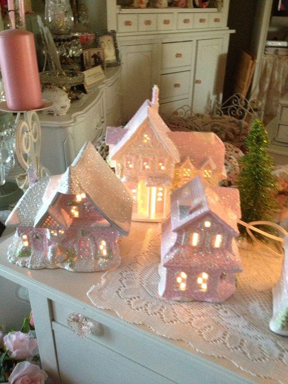 My Shabby Chic Christmas Village