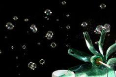 Veja como fazer uma máquina de bolhas de sabão