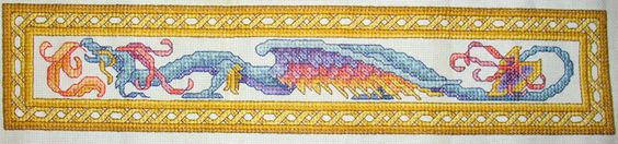 Dragon Cross Stitch by susanjrobinson on deviantART