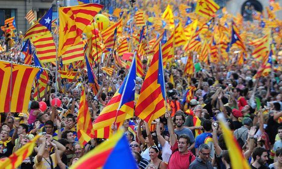 El independentismo catalán logra una histórica exhibición de fuerza | Cataluña…