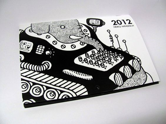2012 Wall Calendar Animals and Vehicles by thestateofthings, $5.99