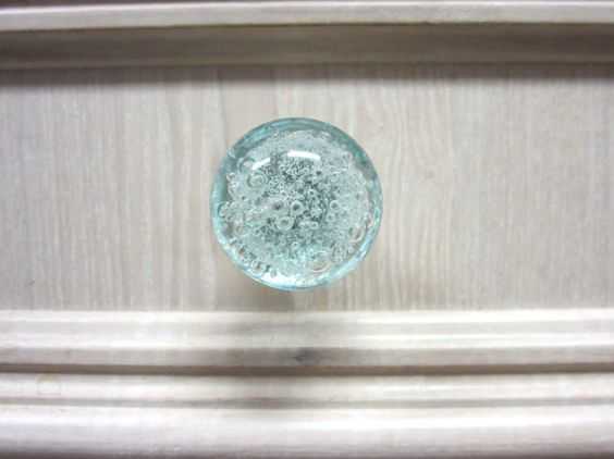 Hey, I found this really awesome Etsy listing at https://www.etsy.com/listing/109554268/bubbly-glass-knob-light-blue