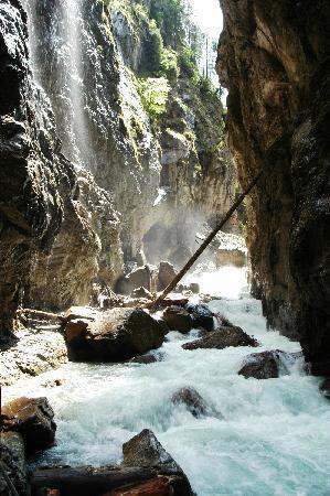 Partnachlam - the gorge located in Garmisch-Partenkirchen Germany...my home town!