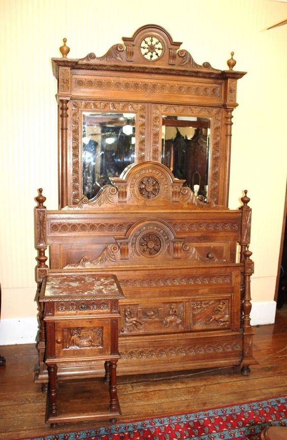 Valencia Carved Wood Traditional Bedroom Furniture Set 209000: Pinterest • The World's Catalog Of Ideas