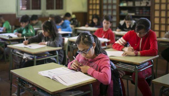 Mi blog de noticias: LOMCELa prueba externa de primaria divide a las fa...