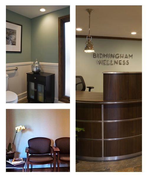 Perfect Medical Office Color Palette | Color Specialist In Charlotte: 4/1/12 I  Really Like The Desk/pendant/wall Color And Logo On Wall | Medical Office |  Pinterest ...