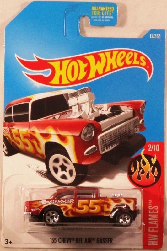 Euphoria Auction Hot Wheels Hw Flames 2 10 55 Chevy Bel Air