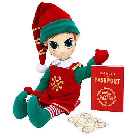 Buy Portable North Pole Girl Elf Online at johnlewis.com
