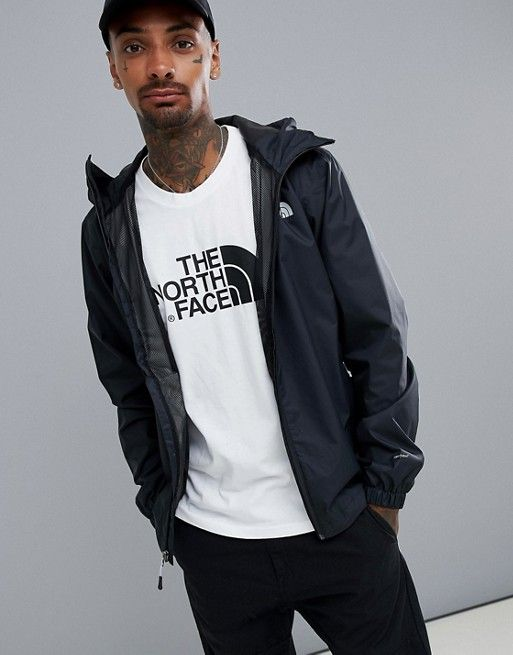 The North Face The North Face Quest Jacket In Black Mens Clothing Styles The North Face Jackets